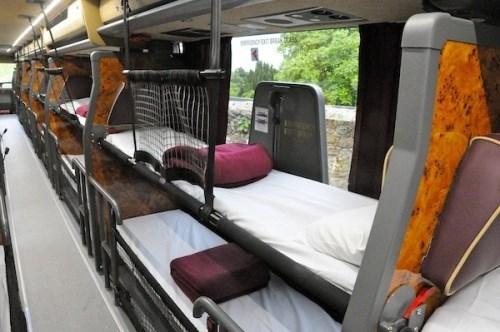 Xe giường nằm tiện ích cho hành trình chuyến đi dài
